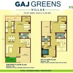 Gaj Greens Villas Bareilly Badaun Road – 3BHK Duplex